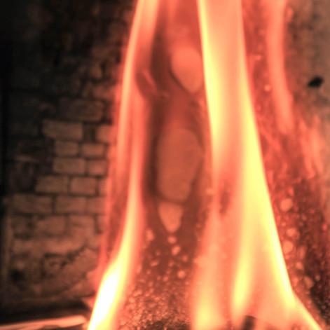 Burning Photograph 2