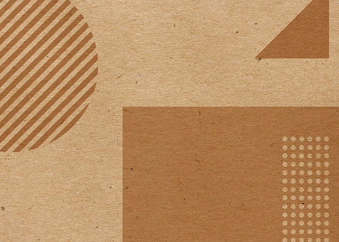 Brown Geometric Shapes
