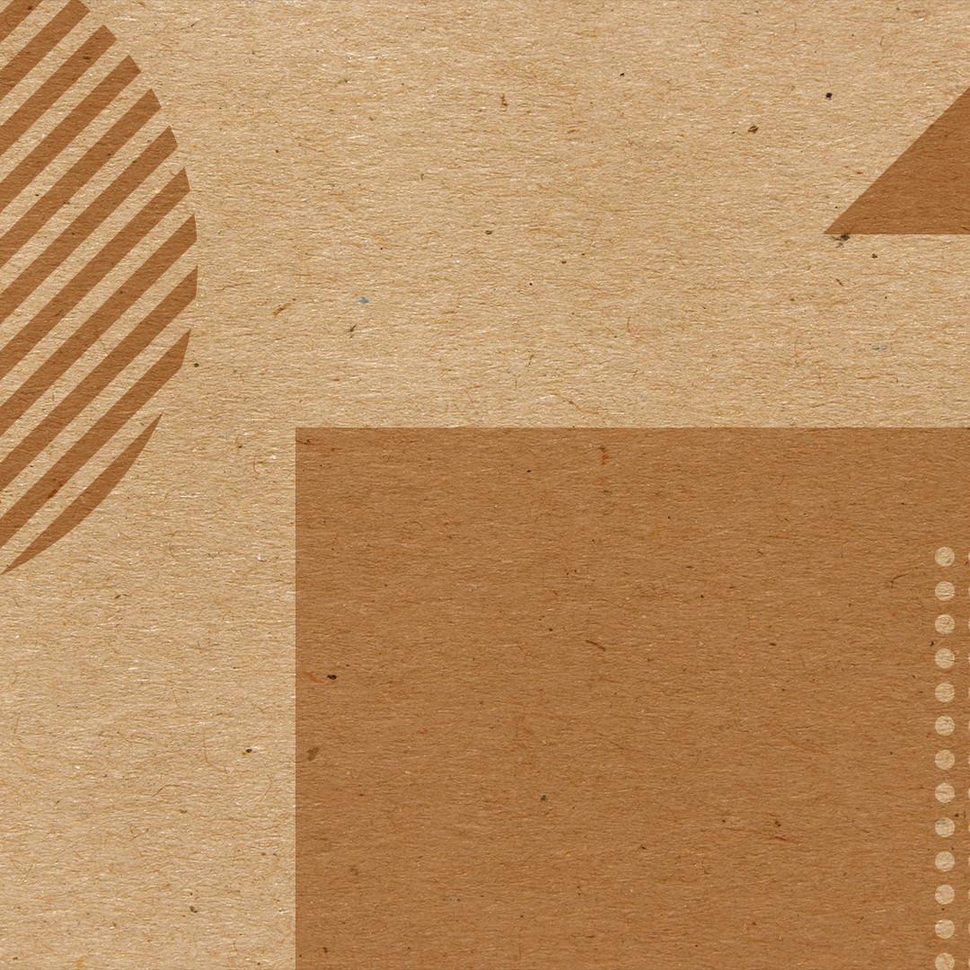 Brown Geometrische Formen