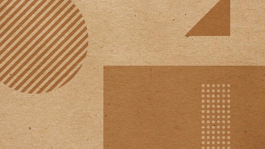 Brown Geometric Shapes