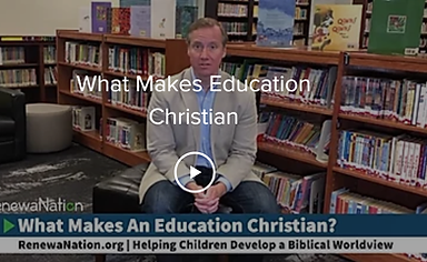 What Makes Education Christian - Cover P