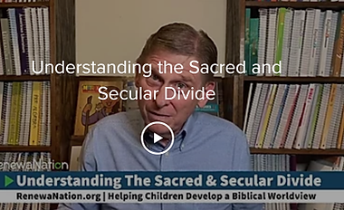 Sacred and Secular Divide - Cover Photo.