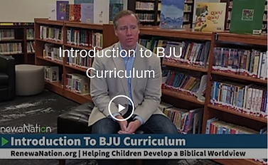 Intro to BJU Curriculum - Cover Photo.pn
