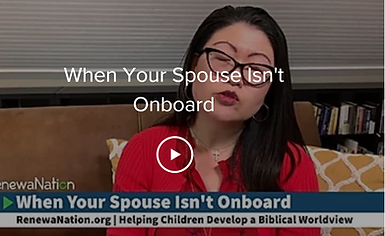 When Your Spouse Isn't Onboard - Cover P