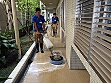 ビルマンションの定期清掃