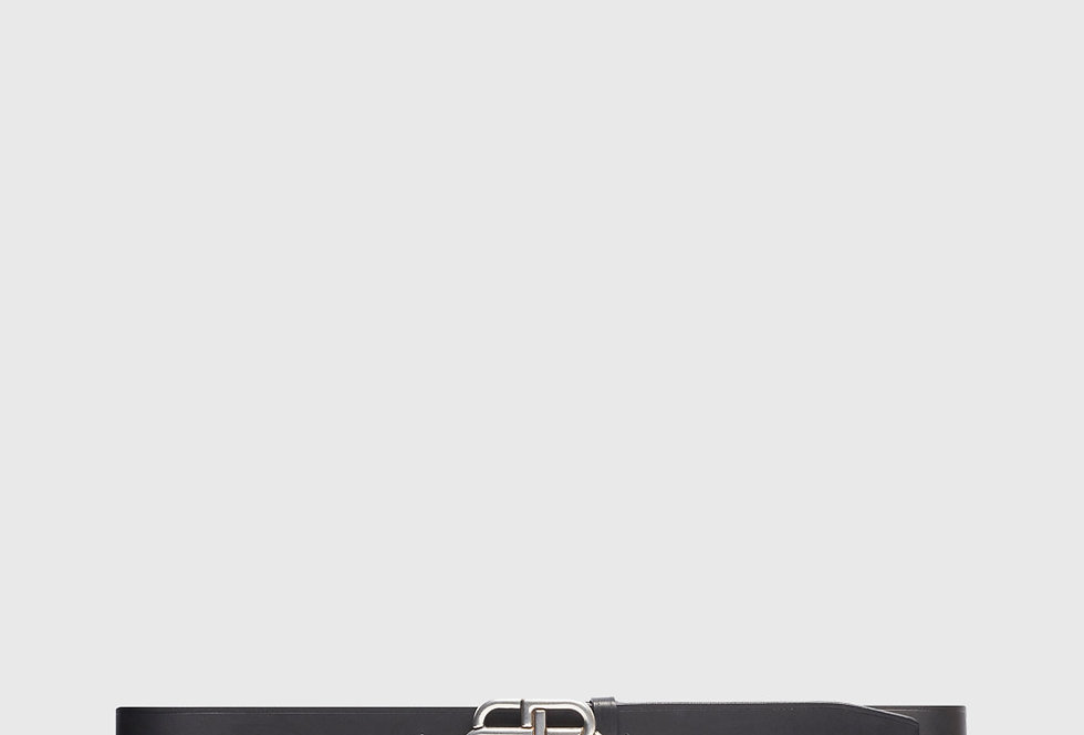 Balenciaga BB Large Belt Black