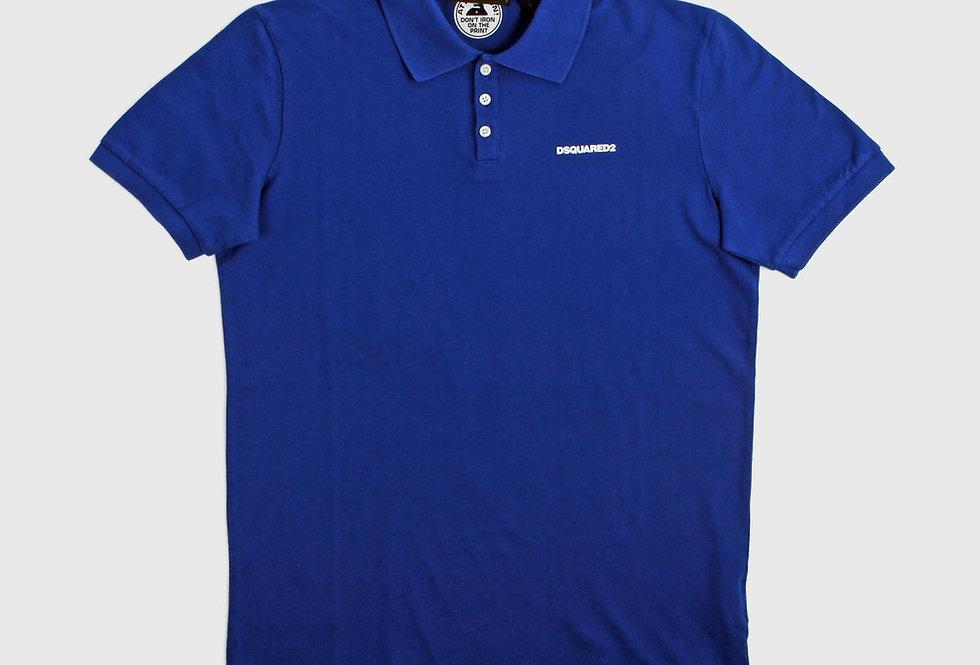 Dsquared2 Polo Shirt Bright Blue