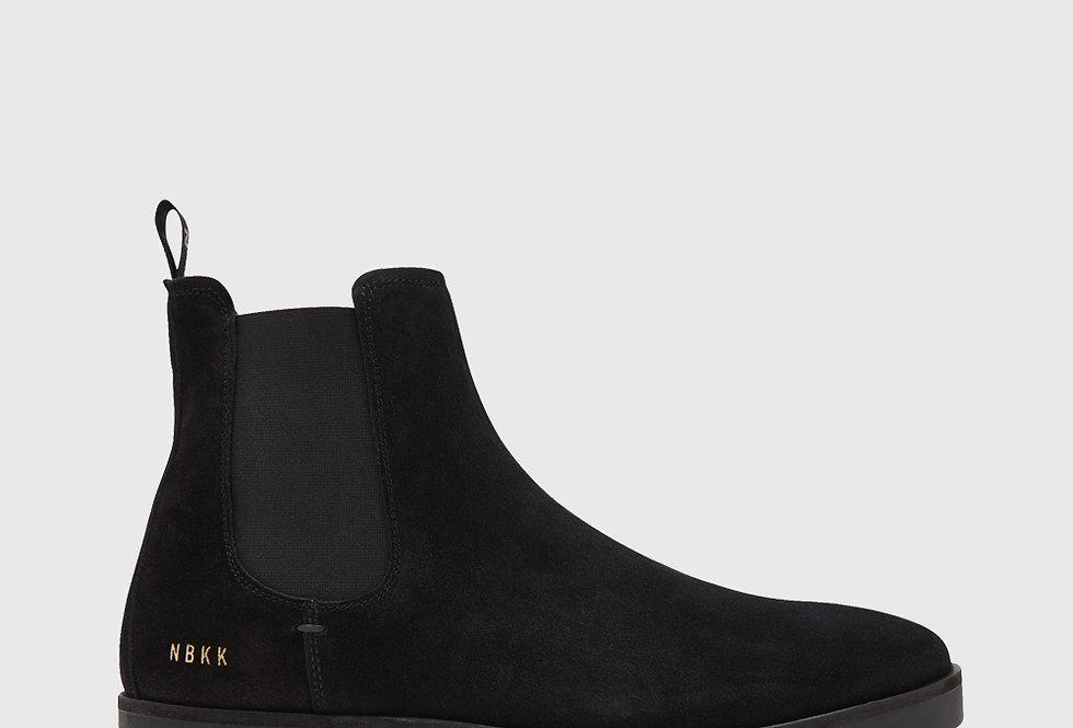 Nubikk Logan Chelsea Boots Black