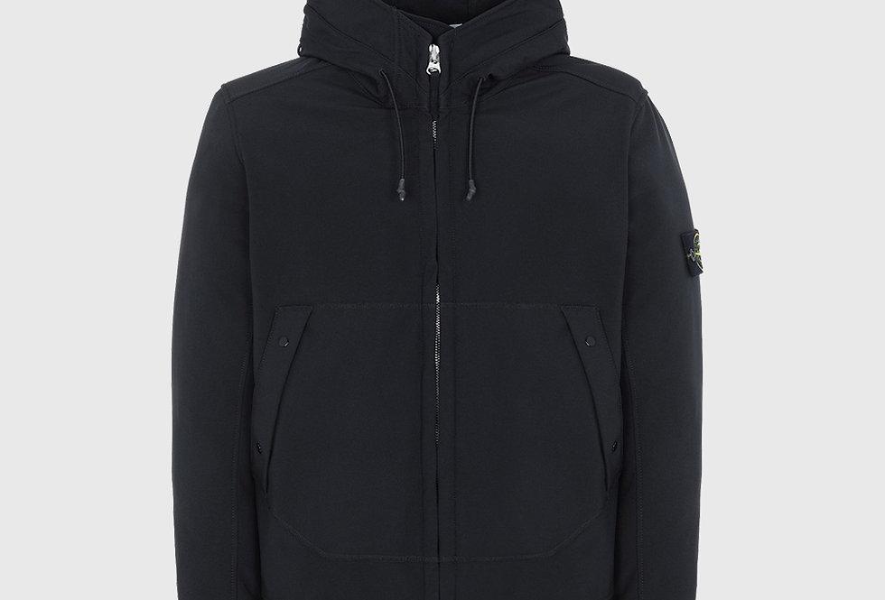 Stone Island Q0122 Soft Shell-R Lightweight Jacket Black