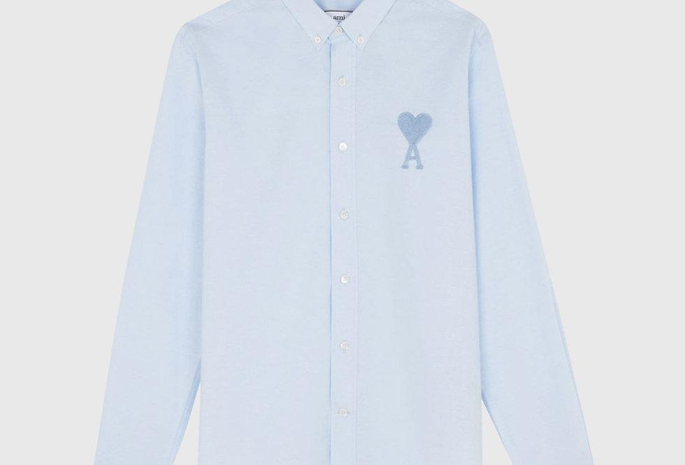 Ami de Coeur Button-down Big Shirt Light Blue