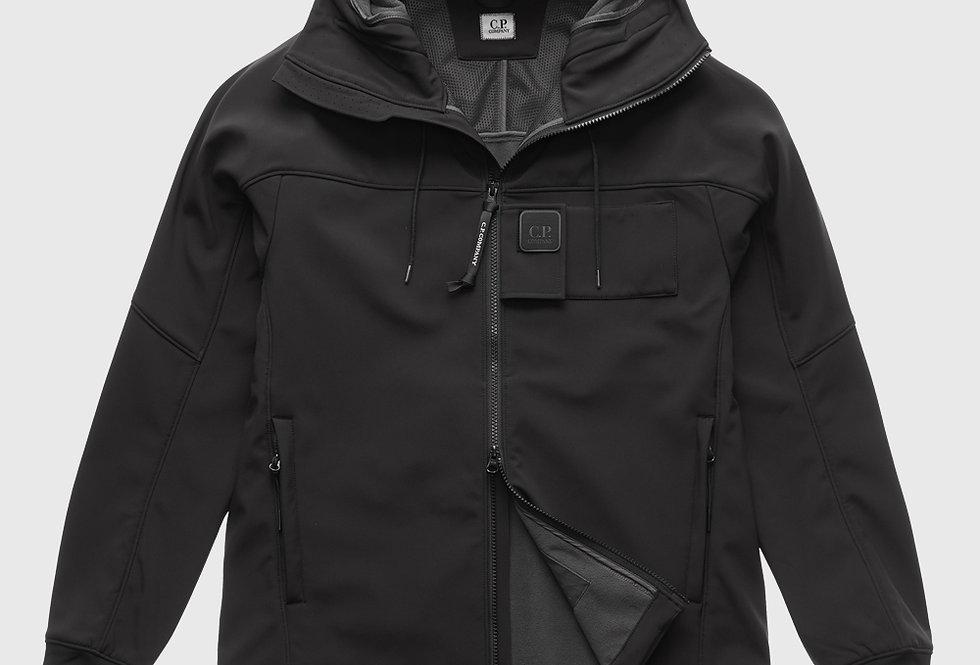 C.P. Company Soft Shell Urban Protection Series Logo Jacket Black