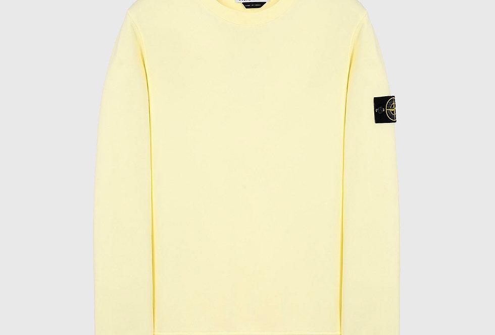 Stone Island 63051 Sweatshirt Lemon