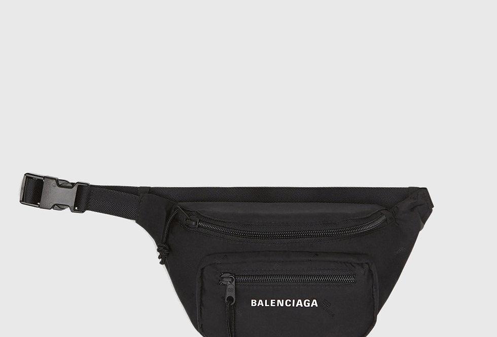 Balenciaga Expandable Beltpack Black