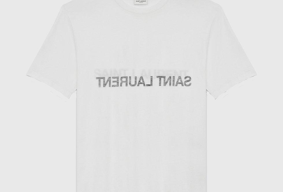 Saint Laurent Reverse T-shirt Natural