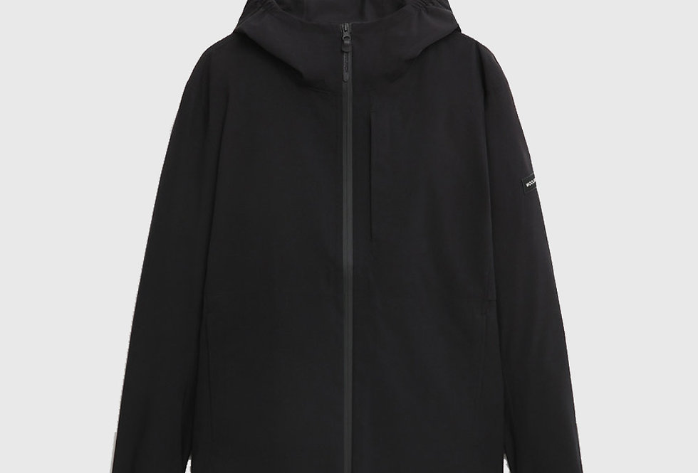 Woolrich Double Layer Breathable Pacific Jacket Black