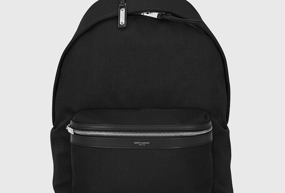 Saint Laurent City Backpack Black
