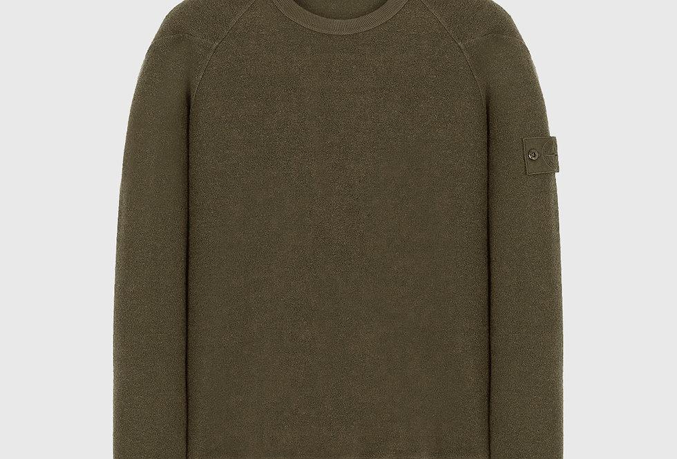 Stone Island 654F5 Ghost Piece Sweatshirt Green