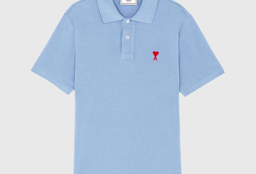 Ami de Coeur Polo Shirt Light Blue