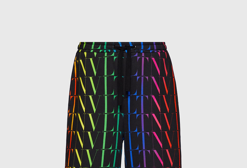 Valentino Bermuda Shorts VLTN Times Multicolor