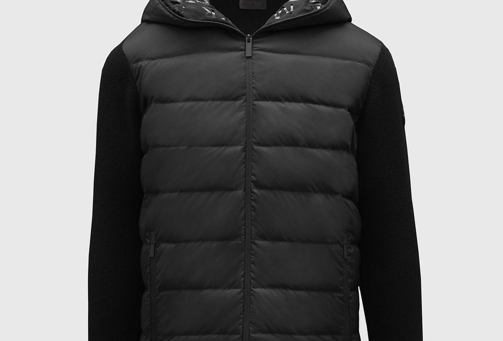Moncler Zipper Cardigan Black