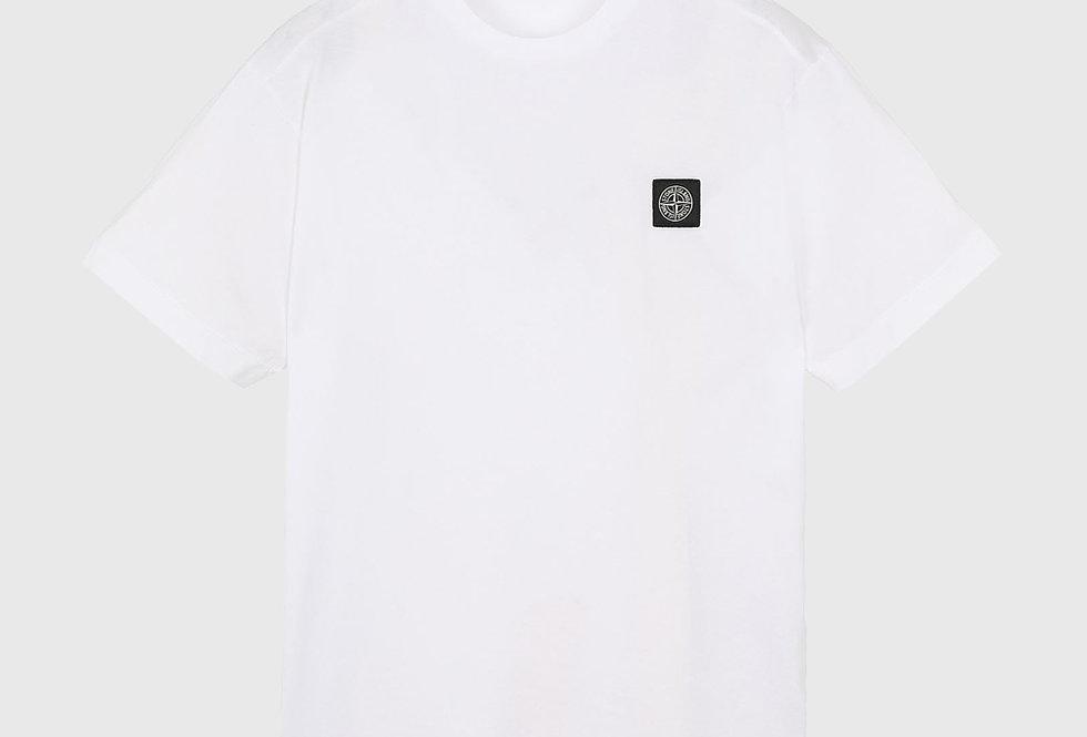 Stone Island 24113 Patch Logo T-shirt White