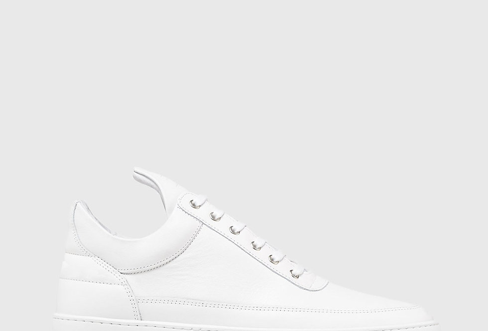 Filling Pieces Low Top Ripple Nappa All White