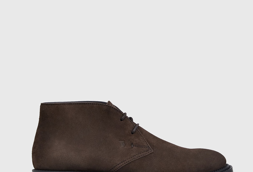 Tod's Desert Boots Suede Brown