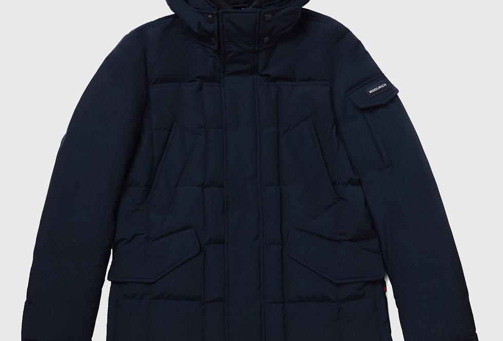 Woolrich Blizzard Field Jacket Melton Blue