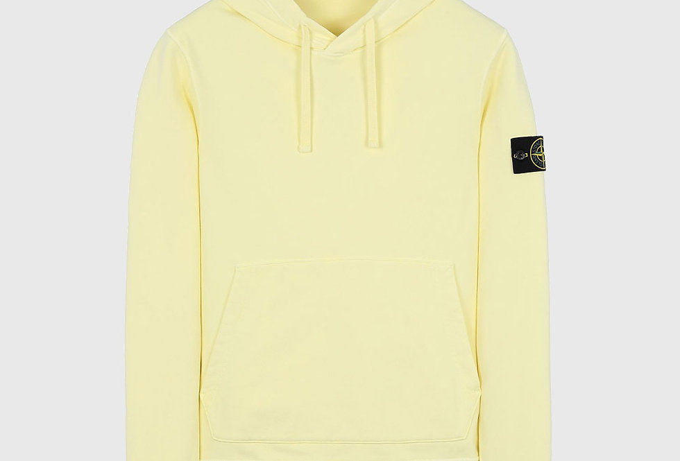 Stone Island 64151 Hooded Sweatshirt Lemon