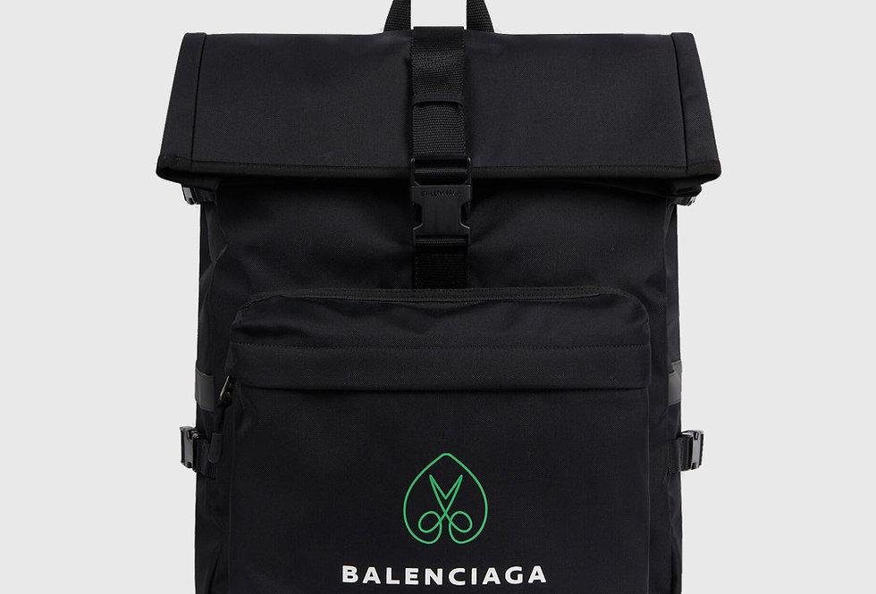 Balenciaga Messenger Backpack Black
