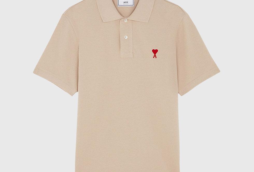 Ami de Coeur Polo Shirt Beige