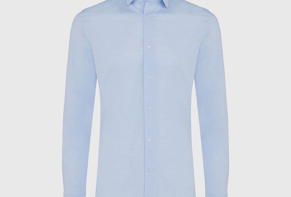 Genti Supreme Jersey Shirt Light Blue