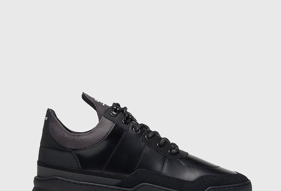 Filling Pieces Low Top Ghost Radar All Black