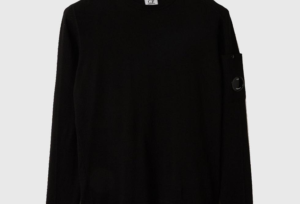 C.P. Company Sea Island Medium Sweater Black