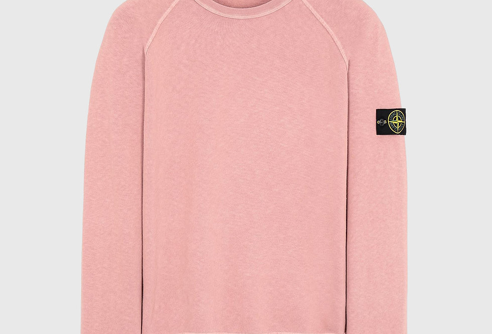 Stone Island 66060 T.CO+OLD Sweatshirt Pink Quartz