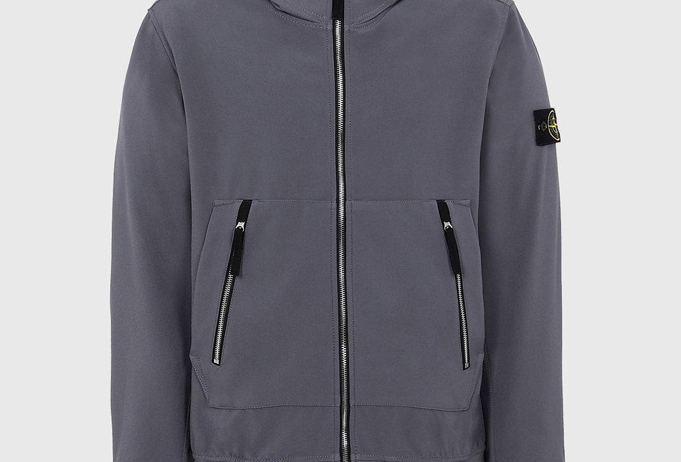Stone Island 40727 Soft Shell-R Lightweight Jacket Grey