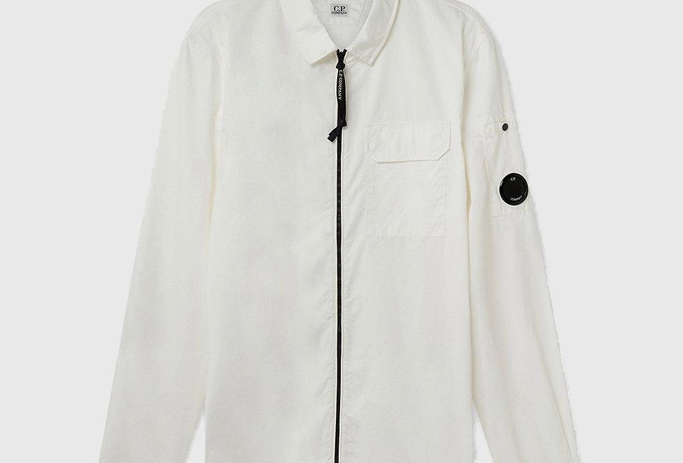 C.P. Company Gabardine Garment Dyed Utility Gauze White