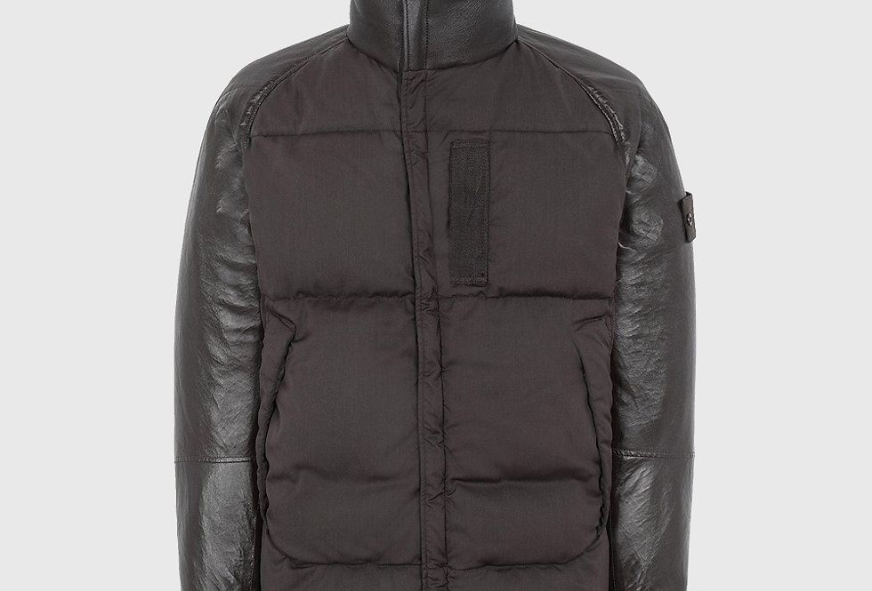 Stone Island 002F3 Featherweight Leather Wool Nylon Down Ghost Piece