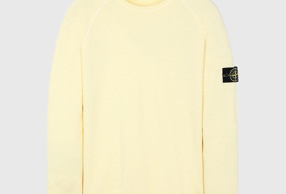 Stone Island 66060 T.CO+OLD Sweatshirt Lemon