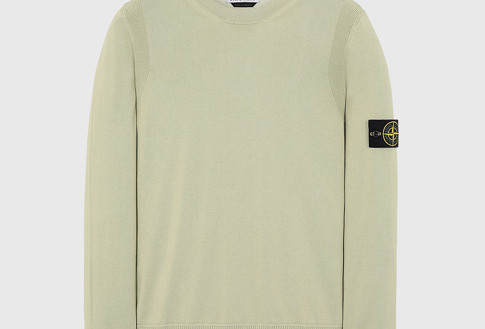 Stone Island 504B2 Crewneck Knit Light Green