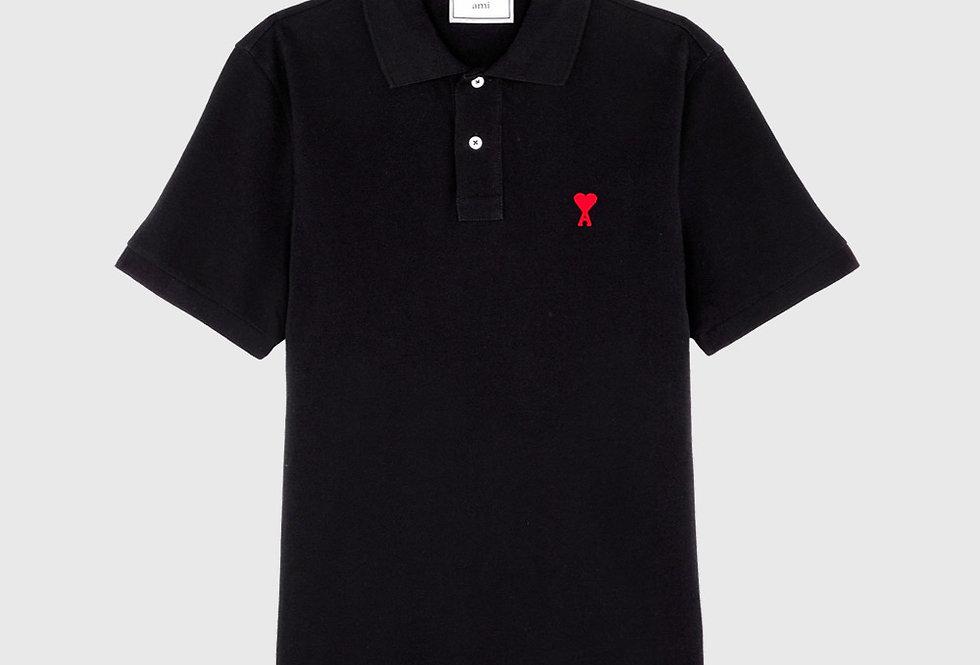 Ami de Coeur Polo Shirt Navy