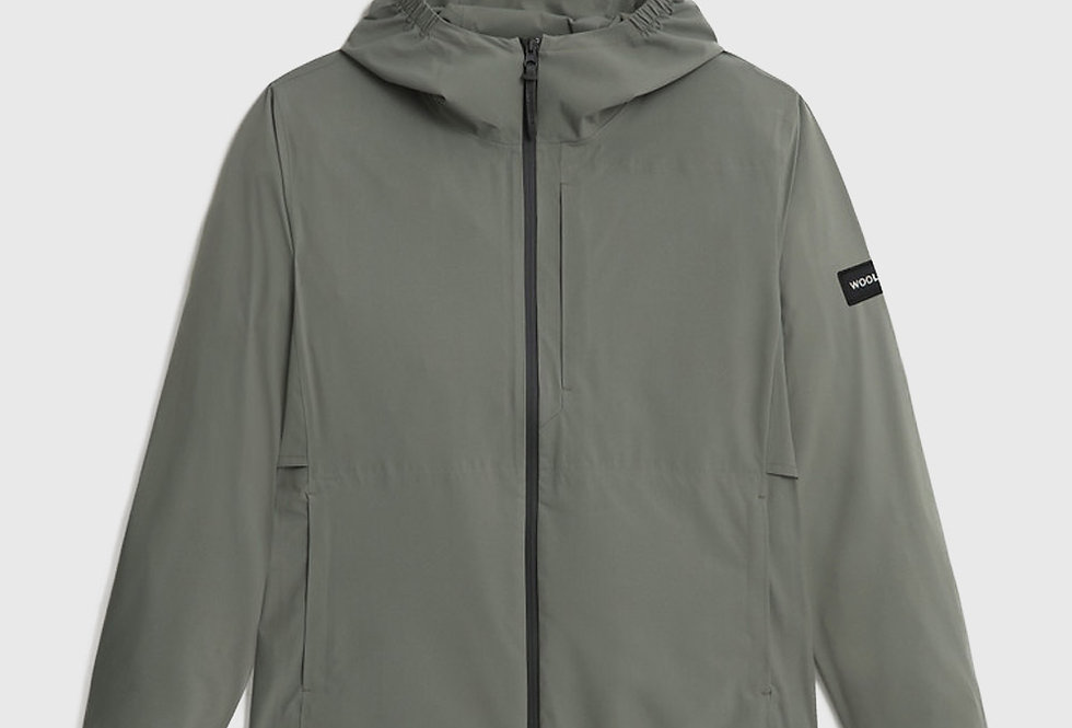 Woolrich Double Layer Breathable Pacific Jacket Green