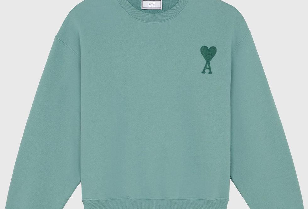Ami de Coeur Sweatshirt Green Aqua