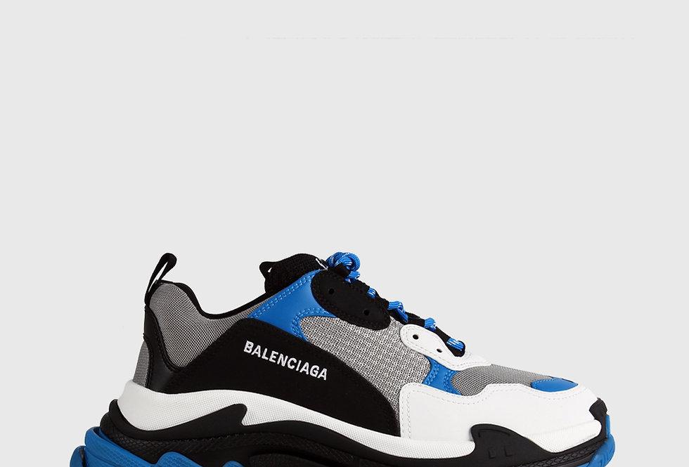 Balenciaga Triple S Sneaker Blue Grey Black