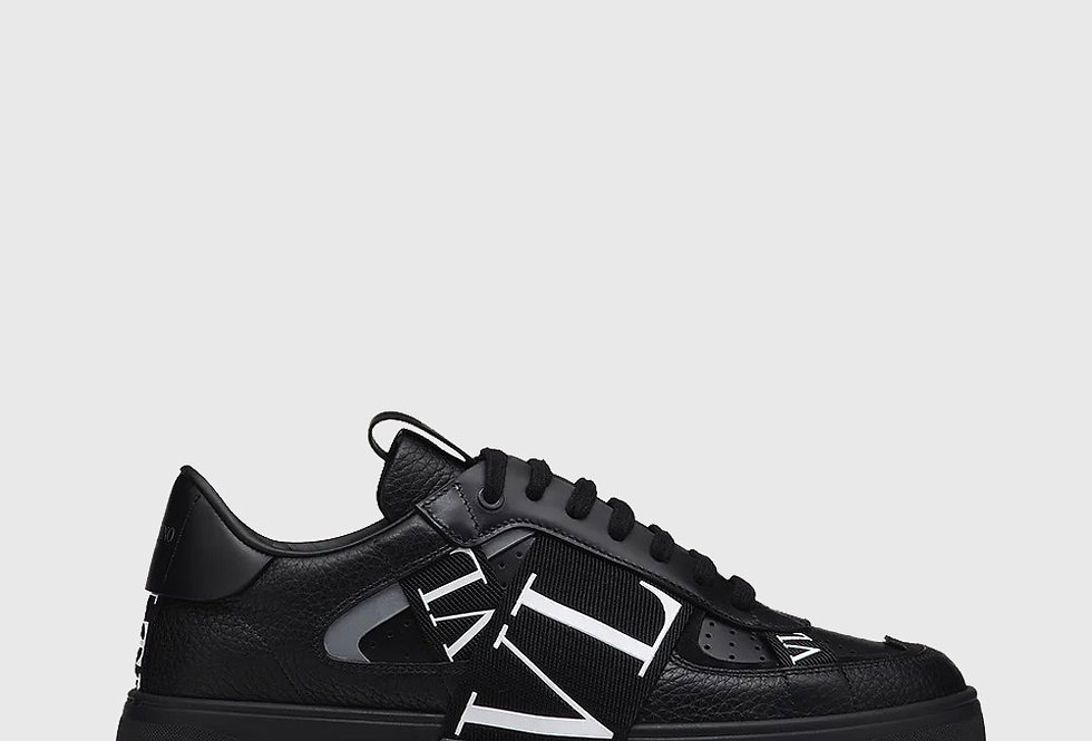 Valentino Low Top Calfskin VL7N Sneaker Black