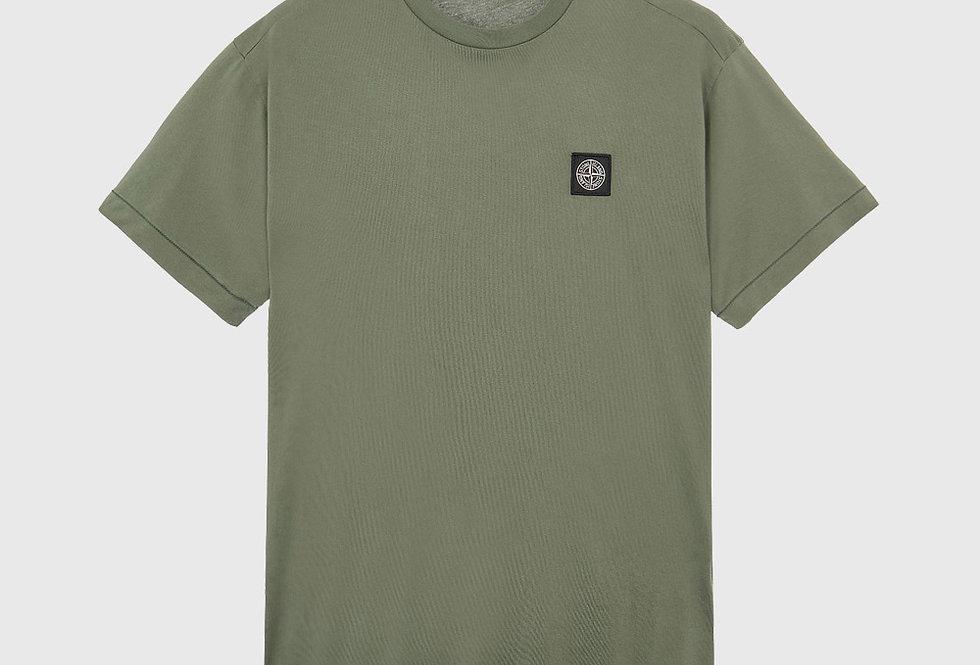 Stone Island 24113 60/2 Cotton Jersey T-Shirt Sage Green