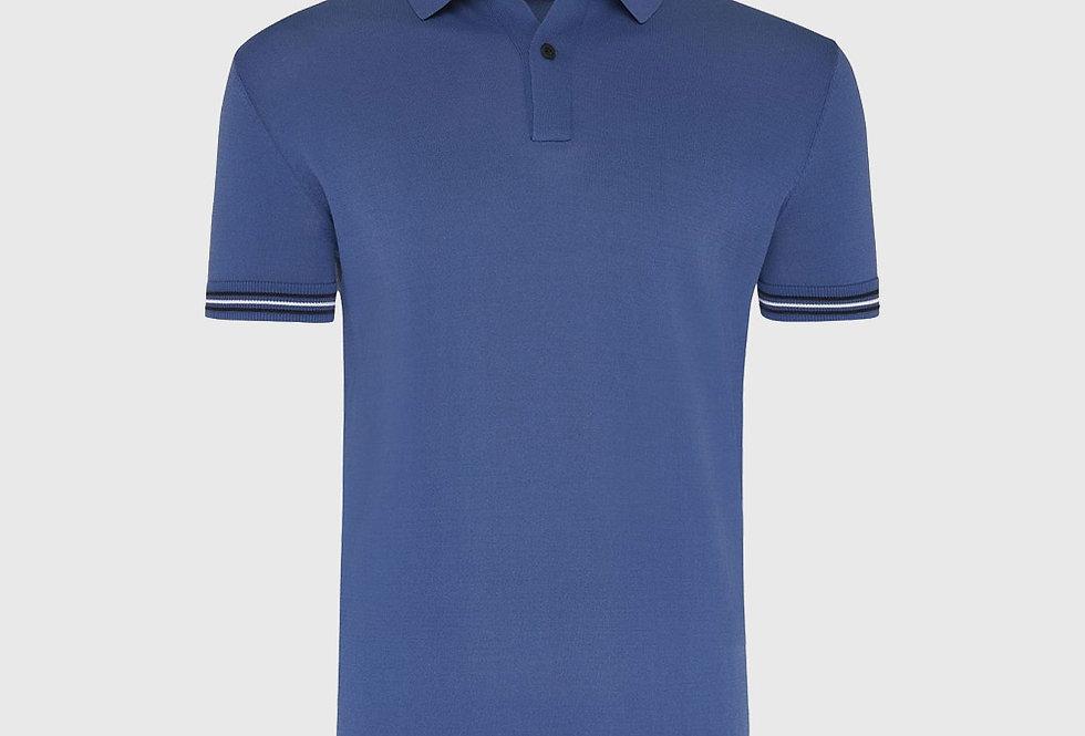 Genti Cool Dry Polo Blue