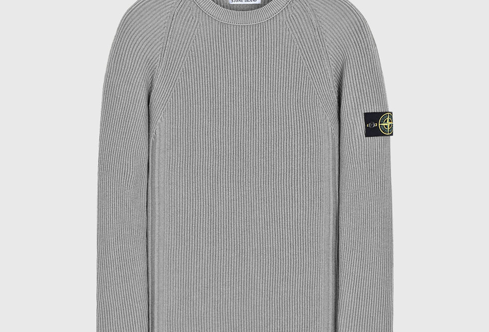 Stone Island 516C2 Wool Sweater Grey