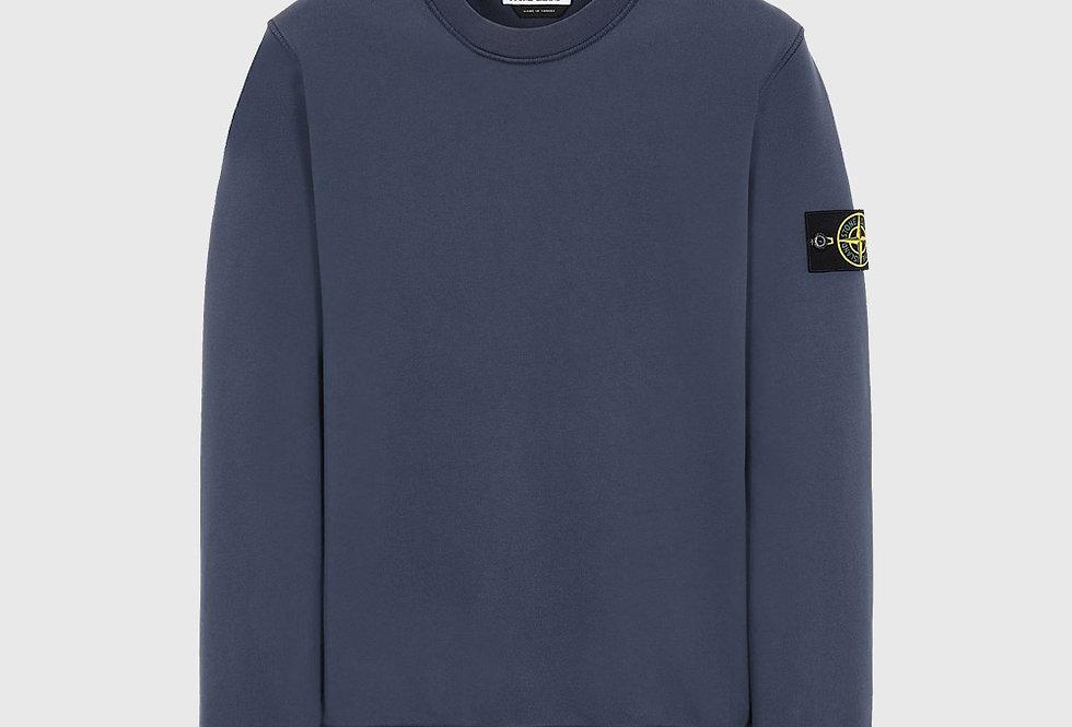 Stone Island 63051 Sweatshirt Avio Blue