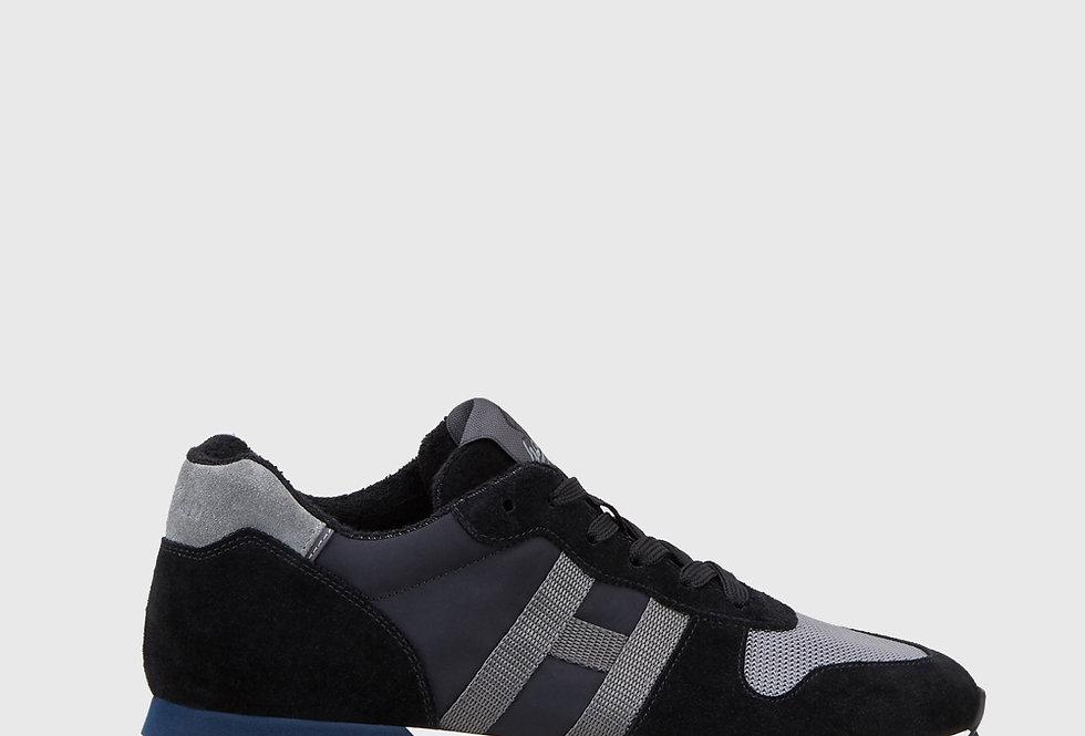 Hogan Sneakers H383 Black Grey